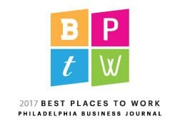 PeopleShare named to the Philadelphia Business Journal's Best Places to Work list for the 10th year in a row