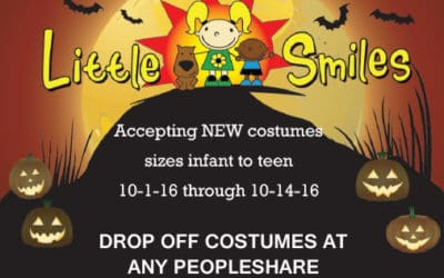 PeopleShare Partners with Little Smiles for Halloween Costume Drive