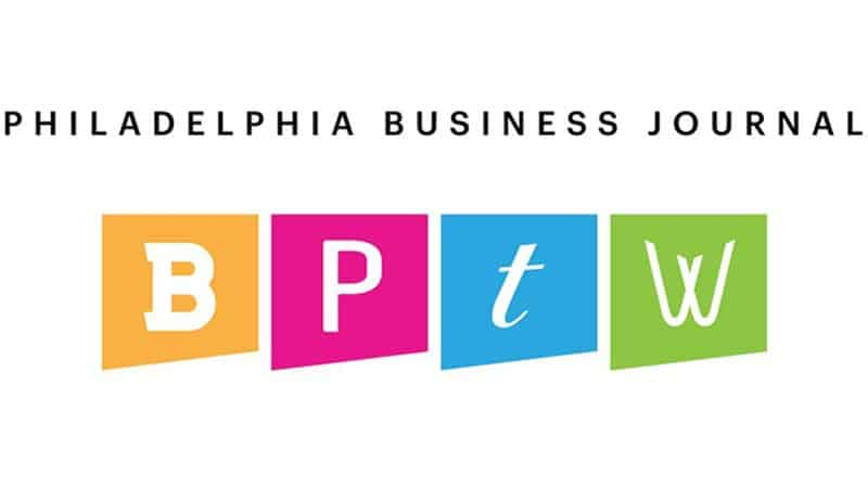 Voted One of the Best Places to Work by the Philadelphia Business Journal