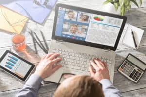 Virtual, Online Meeting, Interview, Conference