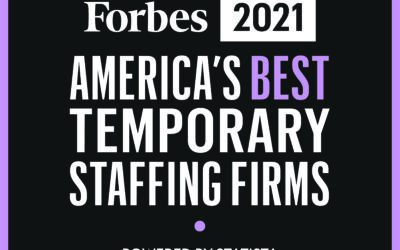 PeopleShare Named on Forbes 2021 America's Best Temp Staffing Firms List