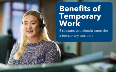 Benefits of Temporary Work